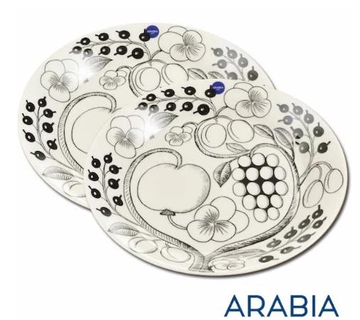 新築/引越し祝い おすすめ ARABIA(アラビア) プレート 26cm 2枚セット