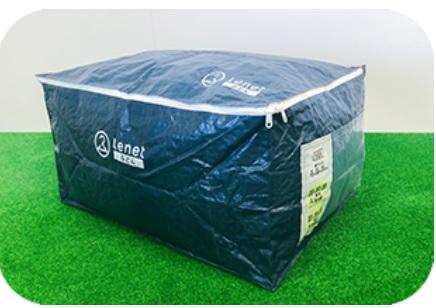 【最安値】布団の宅配クリーニング 「ふとん リネット」専用バッグ