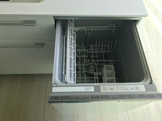 【月1回】食洗機の本体や庫内の掃除