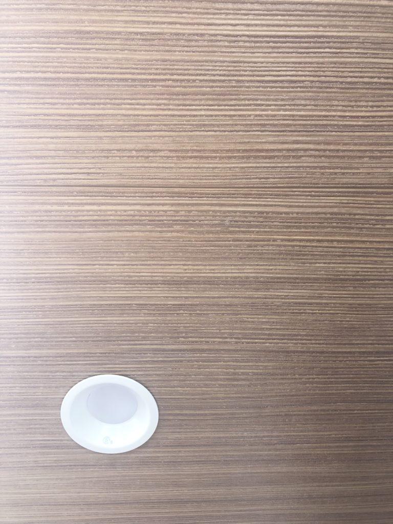 木目調の軒天 ニチハ 施工例