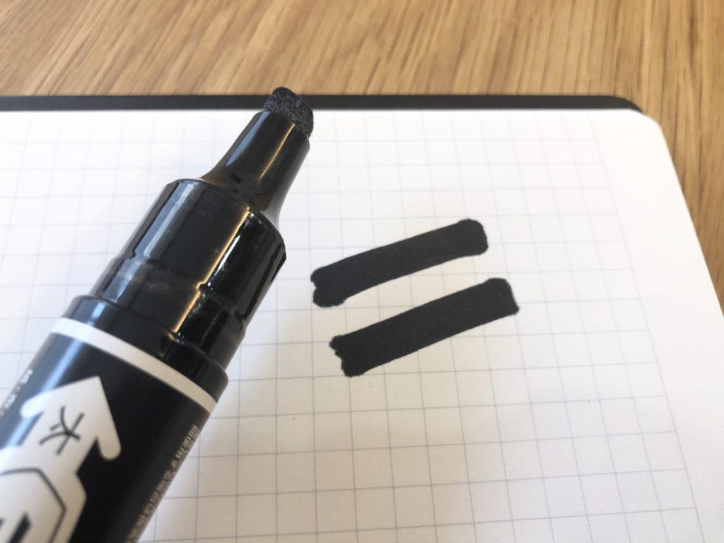 書けるようになった油性ペン